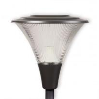 LED-pylväsvalaisin Ensto Opera OP530LED20GH, 20W/840, grafiitinharmaa, akryylikuvulla