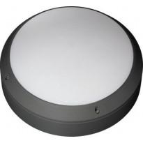 LED-katto/seinävalaisin Ensto Forte FO360.19GH/3K, IP65, 19W/830, ulkokäyttöön