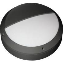 LED-katto/seinävalaisin Ensto Forte FO360.19LGH/3K, IP65, 19W/830, ulkokäyttöön