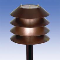 Pylväsvalaisin Käpy AT101ALAP, Ø292x283mm, antiikkipronssi