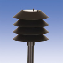 Pylväsvalaisin Käpy AT101ALM, Ø292x283mm, musta