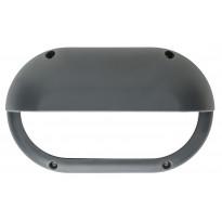 LED-ulkoseinävalaisin Airam Cestus Horizontal Eye, max 100W, E27, 165x270x110mm, IP65, antrasiitti/opaali