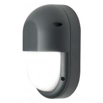 LED-ulkoseinävalaisin Airam Cestus Vertical Eye, max 100W, E27, 270x165x110mm, IP65, antrasiitti/opaali