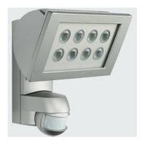 Valonheitin Esylux AF 300/200i LED 3K 225x212x177 mm teräs liiketunnistimella