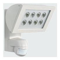Valonheitin Esylux AF 300/200i LED 3K 225x212x177 mm valkoinen liiketunnistimella