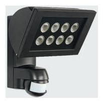 Valonheitin Esylux AF 300/200i LED 3K 225x212x177 mm musta liiketunnistimella