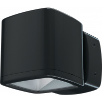 LED-seinävalaisin Lumiance Inverto, 16/19W, 4000K, IP65, musta