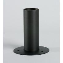 Valaisinpylväs Ensto MJ-5M/120, Ø50,8x1200mm, musta