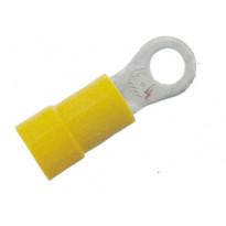 Eristetty rengaskaapelikenkä A4665R  keltainen 4-6, M6