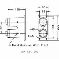 Kaapelipääte LAK II/2X48