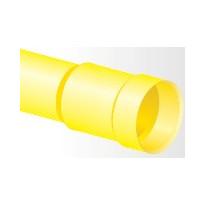Kaapelinsuojaputki keltainen TEL-A 140x6,7x6000