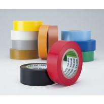 PVC-sähköteippi NITTO 201, 15x10, kelta-vihreä