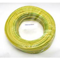 PVC-suojasukka PVC 2mm 100m kelta-vihreä