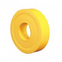 Varoitusnauha 1,5x25mm, pituus 50m, keltainen