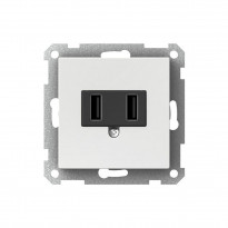 USB-latauspistorasia WDE002918 valkoinen Exxact