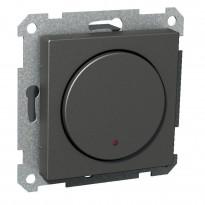 Pienjännitepainike 1-osainen 400mA 12-24V LED antrasiitti Exxact