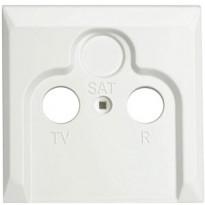 Artic antennikeskiölevy R+TV+SAT valkoinen
