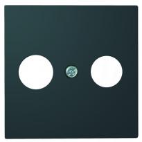 Antennikeskiölevy ELKO Plus, TV/R KL, musta