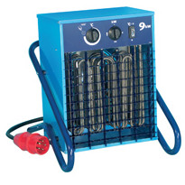 Lämpöpuhallin EL BJÖRN, VF3 3,3kW, 400V