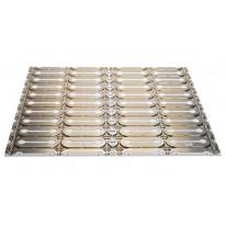 Lattialämmityksen asennus- ja eristelevy DEVIcell Dry 50 m² T 100 kpl