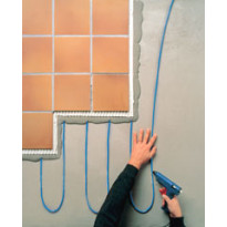 Lattianlämmityskaapeli T2Blue-10 40m/400W 3-6.5m2