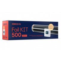 Lattialämmityskelmupaketti Ebeco FOIL KIT 500, 40 cm lämmitysleveys, 27m, 10-12m2, 750W