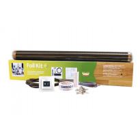 Lattialämmityskelmupaketti Ebeco Foil Kit, 97 cm lämmitysleveys, 65 W/m², 15m²