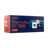 Lämpömattopaketti Ebeco Thermoflex Kit 500, 1.7m2, 200W