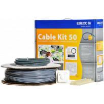 Lämpökaapelipaketti Ebeco Cable Kit 50 18,5m 200W