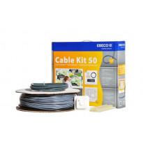 Lämpökaapelipaketti Ebeco Cable Kit 50, 49m, 540W