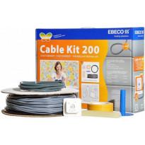 Lämpökaapelipaketti Ebeco Cable Kit 200 73m 810W