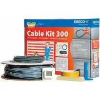 Lämpökaapelipaketti Ebeco Cable Kit 300 107m 1180W