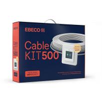 Lämpökaapelipaketti Ebeco Cable Kit 500, 107m, 1180W