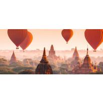 Valokuvatapetti Idealdecor, Ballons over Bagan 8-osaa, 00965 366x254 cm, non-woven, Tammiston poistotuote