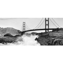 Valokuvatapetti Idealdecor, Golden Gate Bridge 8-osaa, 00967 366x254 cm, non-woven