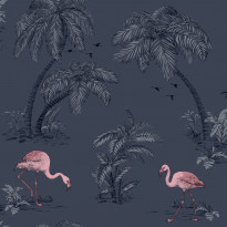 Imaginarium 12382 Flamingo Midnight Blue Pink