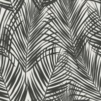 Tapetti ESTA Jungle Fever 139008, 0.53x10.05m, non-woven, musta/valkoinen