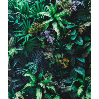 Tapetti ESTA Jungle Fever 158900, 2.325x2.79m, non-woven, monivärinen, Verkkokaupan poistotuote
