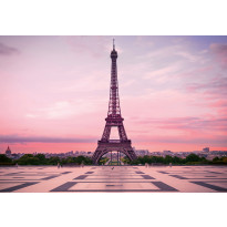 Valokuvatapetti Idealdecor Digital Eiffel Tower At Sunset 4-osaa, 5028-4V-1, 254x368cm