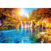 Valokuvatapetti Idealdecor Digital Waterfall And Lake In Croatia 4-osaa, 5030-4V-1, 254x368cm