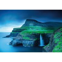Valokuvatapetti Idealdecor Digital Gásadalur Faroe Islands 4-osaa, 5053-4V-1, 254x368cm