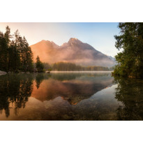 Valokuvatapetti Idealdecor Digital Mountain Lake 4-osaa, 5074-4V-1, 254x368cm