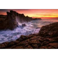 Valokuvatapetti Idealdecor Digital Sea Cliff 4-osaa, 5085-4V-1, 254x368cm