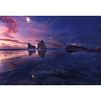 Valokuvatapetti Idealdecor Digital Bay At Sunset 4-osaa, 5107-4V-1, 254x368cm