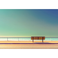 Valokuvatapetti Idealdecor Digital Bench And Sea 4-osaa, 5139-4V-1, 254x368cm