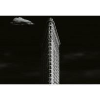 Valokuvatapetti Idealdecor Digital Iron Building New York 4-osaa, 5147-4V-1, 254x368cm