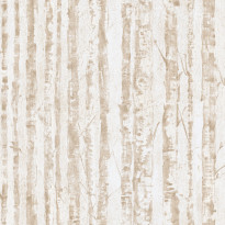 Tapetti Chic Structures CH2403, 0.53x10.05 m, valkoinen/harmaa/beige, non-woven