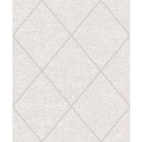 Tapetti ERA ER19053 Square Crackel Beige, 0.53x10.05 m, valkoinen/harmaa/hopea, non-woven