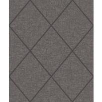 Tapetti ERA ER19054 Square Crackel Canon, 0.53x10.05 m, harmaa/musta, non-woven