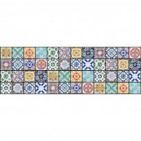 Välitilatarra Dimex Vintage Tiles, 180-350x60cm
